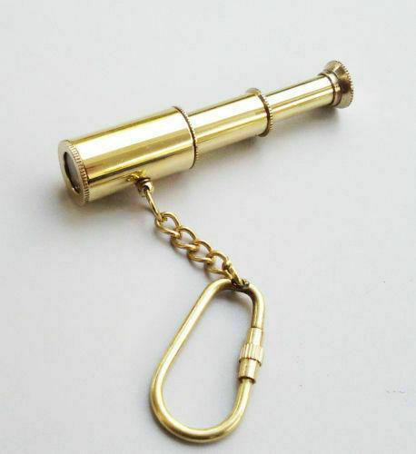 Nautical Brass Telescope, Style Keyring