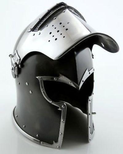 Medieval Barbuta Helmet Armour Helmet Roman knight helmet