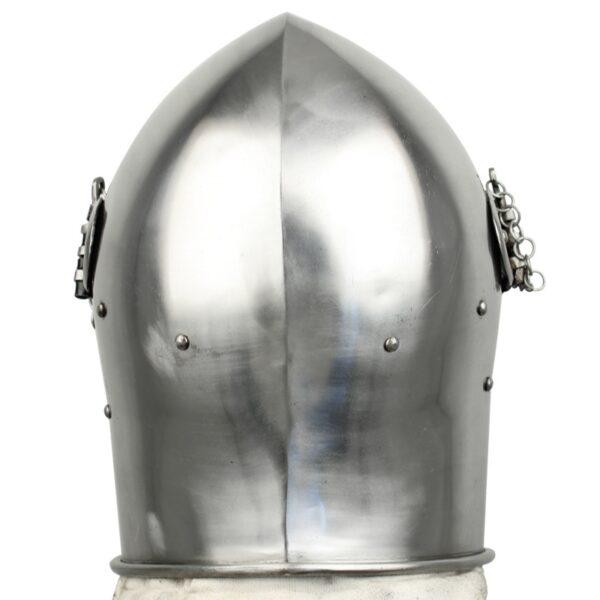 Medieval Detachable Visor Barbute SinghBros Mart