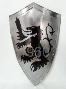 Medieval Knight 24 Armour Steel Shield Battle Reenactment