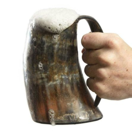 Viking Drinking Horn Cups Steins Mugs For Beer Wine Mead Ale GOT