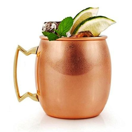 Copper Mug Copper Hammered Design Beer Moscow Mug Cup