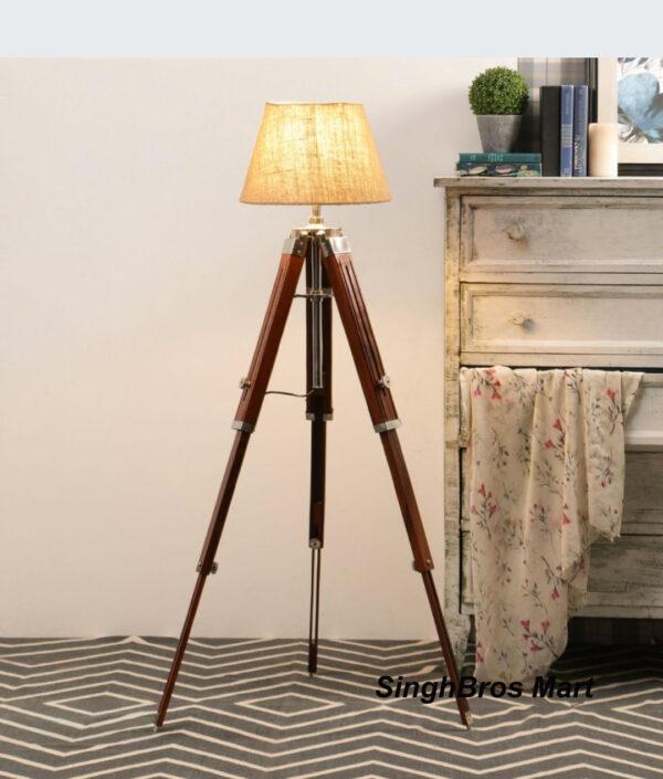 Vintage Tripod Floor Stand