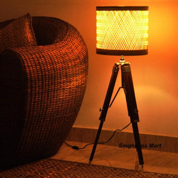 Nautical Floor Lamp, nautical shad lamp,Nautical tripod