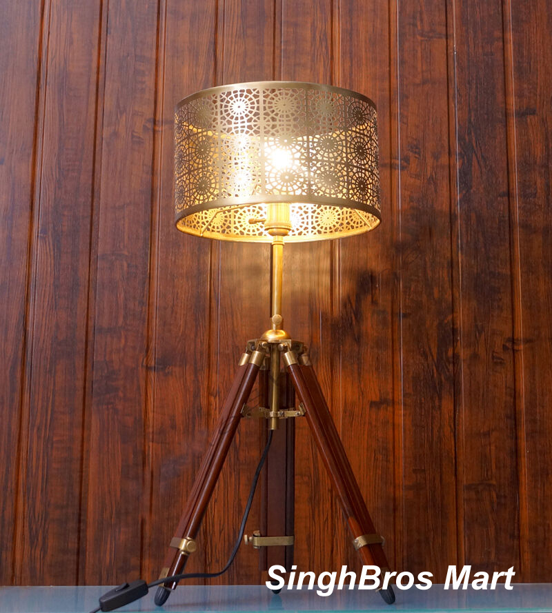 Collectable Vintage Table Lamp Tripod