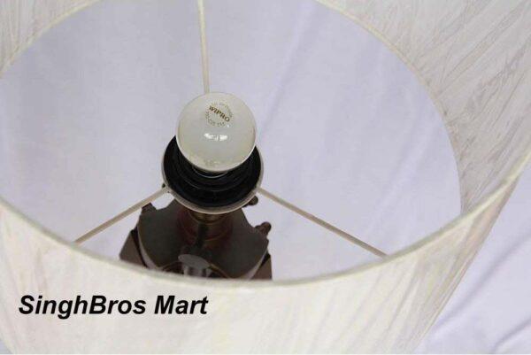 Nautical tripod floor lamp