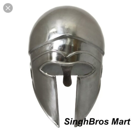 Greek Corinthian Helmet Fully Wearable Re-enactment LARP Collectible