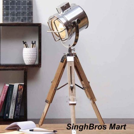 Marine Studio Table Lamp With Tripod Spot Light